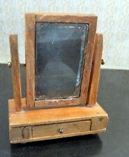RARE Vintage TYNIETOY Dressing Table Glass 1:12 Dollhouse Miniature