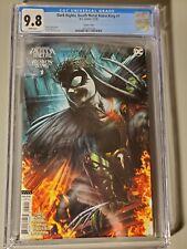 Dark Nights Death Metal Robin King #1 DC 2020 Roberts Variant CVR CGC Graded 9.8