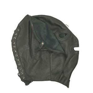 "MicheleX MXL509 Male Real Leather ""VIPER"" Hood S/M"