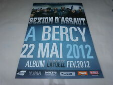 SEXION D'ASSAUT - Publicité de magazine / Advert BERCY 2012 !!!!!!!