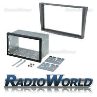 Vauxhall Astra H Grey Double Din Fascia Panel Adapter Plate Cage Fitting Kit