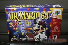Dr. Mario 64 (Nintendo 64, N64 2001) FACTORY SEALED! - EXCELLENT! - RARE!