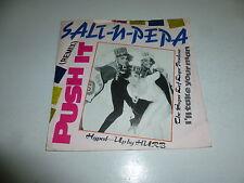 """SALT N PEPA - Push It (Remix) - 1988 USA 2-track 7"""" Juke Box Single"""