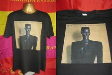 GRACE JONES- NIGHTCLUBBING-EXCELLENT 1981 ALBUM PRINT T SHIRT-BLACK-  LARGE