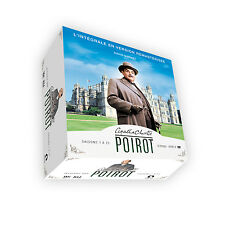 COFFRET DVD INTEGRALE HERCULE POIROT SAISON 1 A 13 NEUF