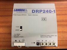 Lambda DRP240-1 240W 24V fuente de alimentación