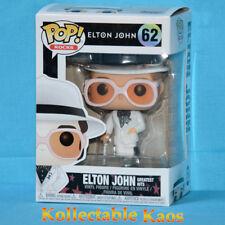 Elton John - Elton John in White Suit Pop! Vinyl Figure