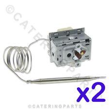 2 X Lincat Th61 Hoher Grenzwert Sicherheit Ausgeschnitten Thermostat Ego