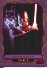 Star Wars Galactic Files Red Parallel #186 Darth Malak