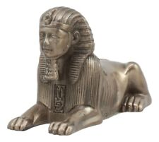 Egyptian Androsphinx Statue Pyramid Guardian Figurine Gods Of Egypt Wonder Decor