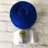 100/% merino yarn Bijou Blue Malabrigo :Worsted #608:
