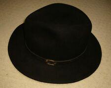 Vintage Genuine Fur Felt Fedora Hat-Men s Size 7 14ac5433b0f9