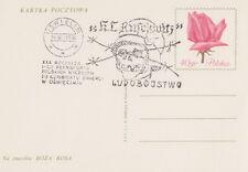 Poland postmark OSWIECIM - AUSCHWITZ-BIRKENAU concentration camp