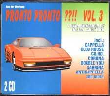 Compilation - Pronto Pronto ??!! Vol. 3 -  2 CD - 1994 - Eurodance Italodance
