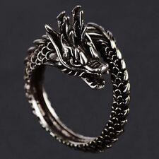 Alloy Ring Ethnic Jewelry Dragon Retro Chinese Style Ring Men's Imitation