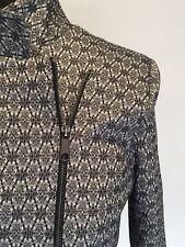 Veducci Bengal Ponte Jacquard Jacket Size 14/L NWT!  RRP $139.00