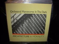 ORCHESTRAL MANOEUVRES IN THE DARK / OMD architecture & morality ( rock ) PROMO