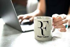 Roger Federer Professional Tennis Player Coffee Tea Mug Cup Gift Set RF