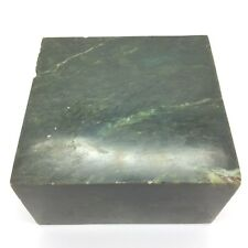 BC Nephrite Jade Block British Columbia Chromium Green Gem Cassiar Mountain #10