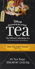 Disney World Wonderland Mad Tea Party Blend, 20 tea bags boxed. NEW