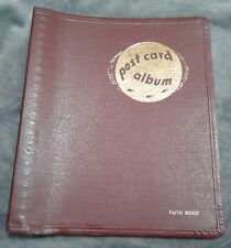 Vintage ELCO Postcard Album Book Binder Holds 250 Postcards NO BOX NO CARDS