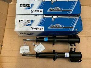 x2 Boge FRONT Shock Absorber for Suzuki Ignis 1.3 2000-2003 Pair