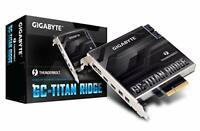GIGABYTE GC-TITAN RIDGE Thunderbolt3 expansion card PCI-Express IO2341