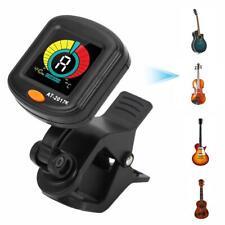 Chromatic Clip-on Guitar Tuner Violin Ukulele Bass Electronic Digital Metronome