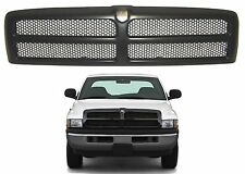 Replacement Black Paintable Grill  1994-2001 Dodge Ram CH1200188 New Free Ship