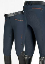 Equiline Dionne Full Grip Breeches ladies navy blue size I 46 UK 14