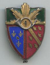 Insigne cavalerie , 1 Rgt. de Chasseurs  ( à Cheval ).