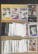 2013 Topps Baseball Sticker Set Mint W/Album(315) Huge set to put together