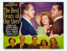 The Best Years Of Our Lives March Wright Dana Andrews Cu 11x14 Lc Print 1947
