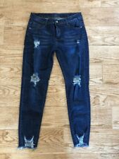Color 3 collections distressed skinny jeans size medium