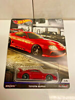 2019 Hot Wheels Premium Car Culture Cruise Boulevard TOYOTA SUPRA VFTH NIP