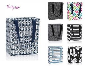 Thirty one zip top Tall Organizing Utility tote shoulder bag 31 gift more colors