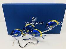 Swarovski Surgeon Fish Scuba Blue Crystal Paradise Surgeonfish 1034023 Ret