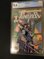 Punisher #1 7/87 CGC 9.6 White Pages First of an Unlimited Series!