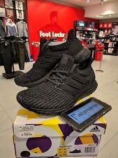 more photos 5e0dd fb89c Adidas Ultra Boost 4.0 Nero Taglia BB6171 Triple UK 8.5