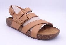 Clarks Rosilla Keene Women's Light Tan Leather Sandals Size UK 3 EU 35.5