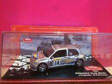 SUPERBE RENAULT CLIO MAXI RALLYE DE MONTECARLO 1995 NEUF BOITE SOUS BLISTER 1/43