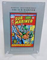 The Sub-Mariner Volume 6 Doctor Doom Marvel Masterworks HC Hard Cover New Sealed