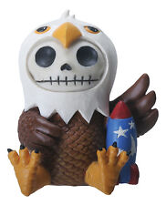 Furry Bones BALDIE the Bald Eagle Figurine, Skeleton in Costume, NIB