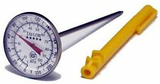 "Taylor Large 1.75"" Dial 0° to 220° F  Thermometer Instant Read 5 inch   #08081"