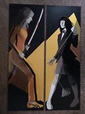 Kill Bill The Bride Quentin Tarantino Movie Art Print Poster Mondo Craig Drake