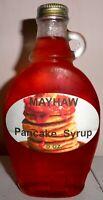 Homemade MAYHAW Pancake & Waffle Syrup, 8 oz., All Natural FREE SHIPPING