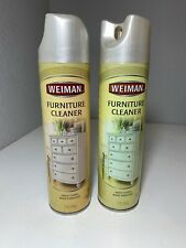 Lot Of 2 Weiman Furniture Cleaner Spray 12 oz Discontinued Rare HTF
