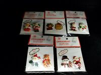 Vintage 1990s Lot Trim a Tree Ornaments New Unopened Pins And Magnets