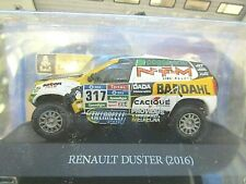 RENAULT Dacia Duster 4x4 Rallye Raid Dakar 2016 #317 Spataro IXO Altaya SP 1:43