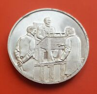 MEXICO SILVER MEDAL BENITO JUAREZ JUEZ DE OAXACA JUNIO 1841 aprox 1972 medalla